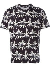 palm trees print T-shirt PS Paul Smith