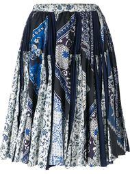scarf print skirt Wunderkind