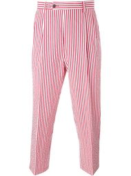 candy stripe cropped trousers Lc23