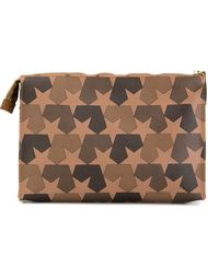 star camouflage print clutch Ports 1961