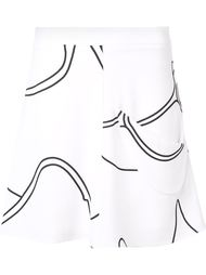 printed new age skirt J.W. Anderson