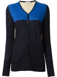 colour block cardigan Wunderkind