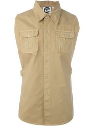 open side dress shirt Telfar