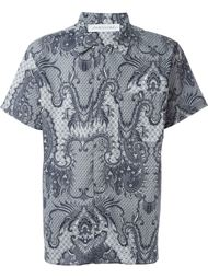 paisley print shirt James Long