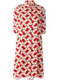 egg print shirt dress  Ultràchic