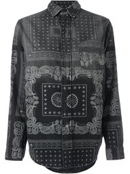 bandana print denim shirt Current/Elliott