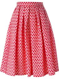 heart print full skirt  Ultràchic