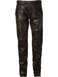 джинсы с покрытием Balmain