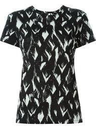 abstract print T-shirt Proenza Schouler