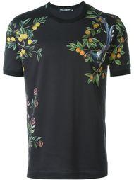 футболка с принтом лимонов Dolce & Gabbana