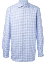 checked shirt Kiton