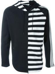 striped hoodie Y-3