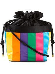 сумка через плечо в полоску  Fendi Vintage
