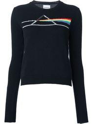 'Prismatic' print sweatshirt Alexander Lewis
