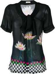 блузка с цветочным принтом Wunderkind