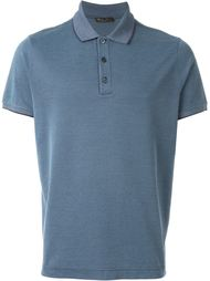 contrast collar polo shirt Loro Piana