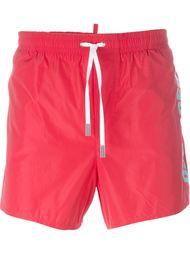 side logo swim shorts Dsquared2 Beachwear