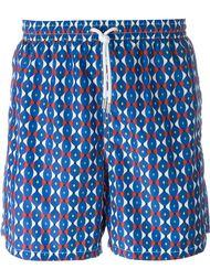 groovy print swim shorts Kiton