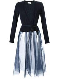 платье-кардиган с юбкой из тюля  Muveil