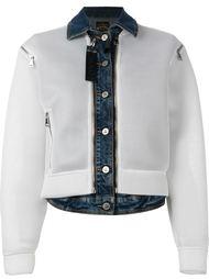 сетчатая куртка с джинсовой отделкой  Vivienne Westwood Anglomania
