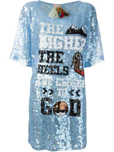 'The higher the heels' dress Mua Mua