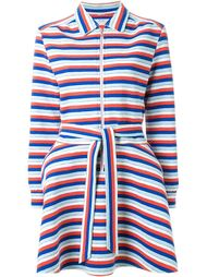 striped belted coat Julien David