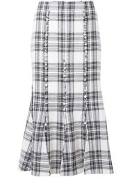 checked skirt Taro Horiuchi