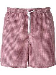 wavy print swim shorts Kiton