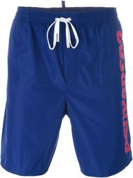 side logo swim shorts Dsquared2 Beachwear