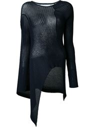 ribbed asymmetric top Marques Almeida