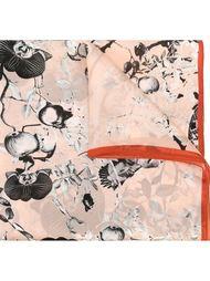 шарф с цветочным принтом Dsquared2