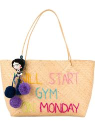 'I will start gym on Monday' tote Mua Mua