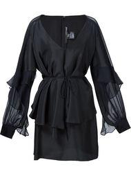 'Sycamore' ruffle dress Thomas Wylde