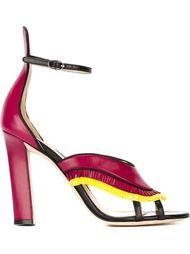 fringed high-heel sandals Paula Cademartori