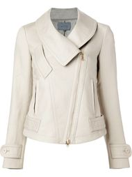 off-centre zip fitted jacket  Maiyet