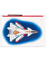 spray rocket print pouch Loewe