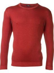 fitted crew neck sweatshirt Kiton