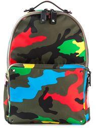 рюкзак с камуфляжным узором Valentino Garavani