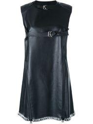 leather swing dress KTZ