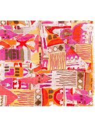 printed scarf Kiton