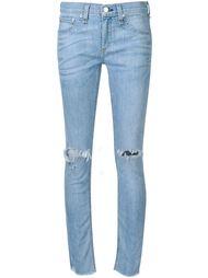 'Birdie' ripped knee cropped skinny jeans Rag & Bone /Jean
