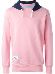 contrast hoodie sweatshirt Lc23