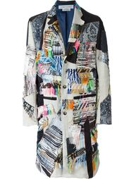 patchwork overcoat James Long