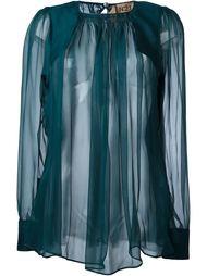 sheer blouse Nº21