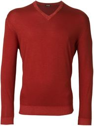 v neck jumper Kiton