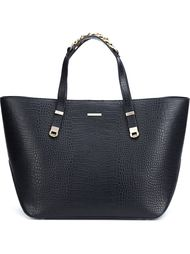 embossed crocodile effect tote Thomas Wylde