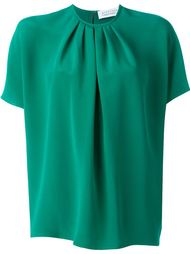batwing pleated front blouse Gianluca Capannolo