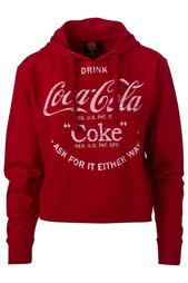 Толстовка с капюшоном Coca Cola