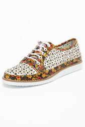 Туфли на шнурке с перфорацией Carlo Boss