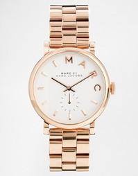 Часы с отделкой под розовое золото Marc Jacobs Baker MBM3244